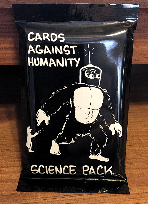 Cards Against Humanity - Science Pack - 2 sets